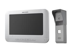 """KIT VIDEO PORTERO IMPERMEABLE + LCD 7"""" COLOR DS-KIS203"""