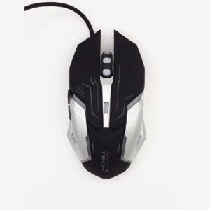Mouse Gamer 6 Botones 2400dpi Led Black Inferno